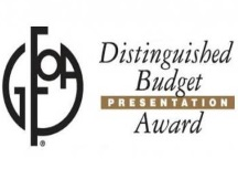 GFOA Distinguished Budget Presentation Award 216x162