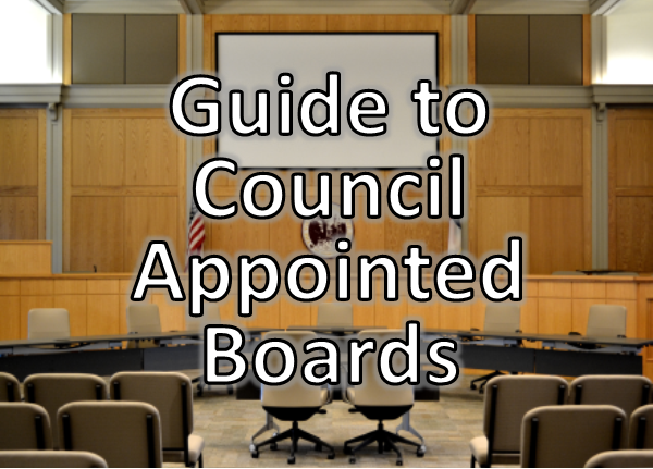 Button - Guide to Council Appointed Boards