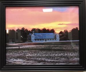 Robert Raney - Fair Barn at Sunset 300w