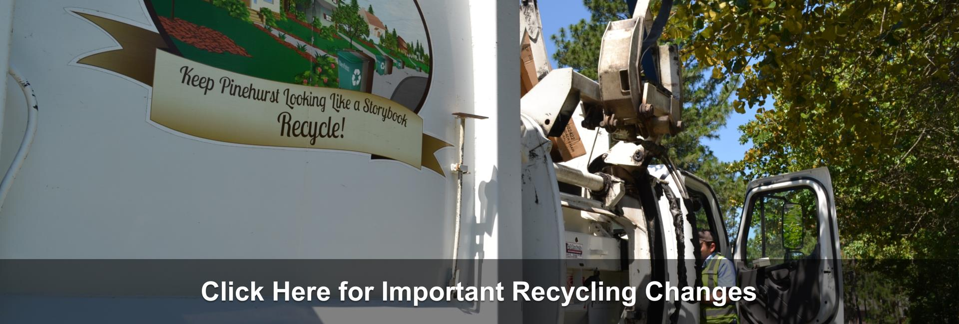 Recycling Changes 2019